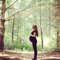 Forest Maternity Photos